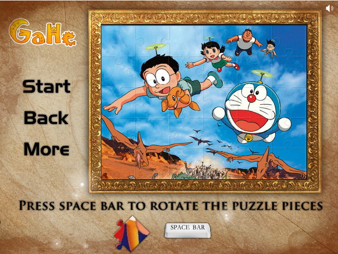 play free online games of doraemon puzzle