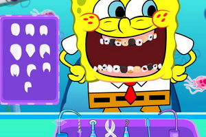 Download Spongebob Tooth Decoration Game Gahe Com