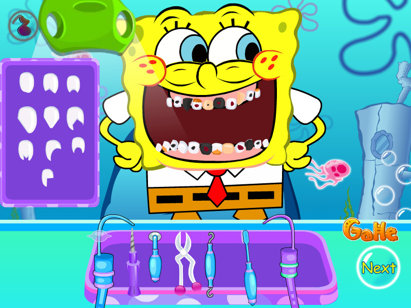 Download spongebob tooth decoration game gahe com House decoration games on gahe