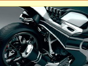 Online game Future Motorbike Jigsaw