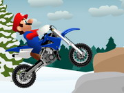 Online game Mario Winter Trail