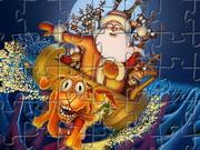 Online game Santa Clause Jigsaw