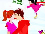 Skating Kiss