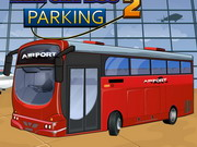 bus parking airport