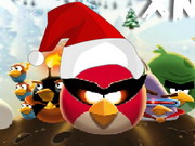 Online game Angry Birds Space Xmas