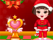 Online game Baby Seven Christmas Dress Up