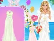 Online game Barbies Personalized Wedding