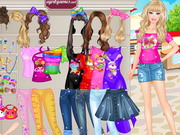 Online igrica Barbie Shopping