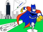 Online game Batman Cartoon Coloring