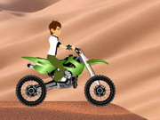 Online game Ben 10 Desert Race