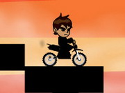 Online game Ben 10 Hard Bike