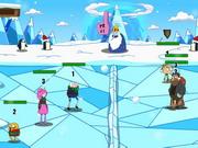 Online game Ben 10 Snowbrawl Battle 2