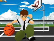 Online game Ben10 Basketball