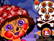 Online game Dora Halloween Makeup