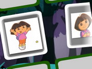 Online game Dora Memory Match