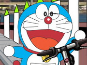 Online game Doraemon On Scooter