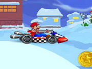Online game Mario Christmas Kart