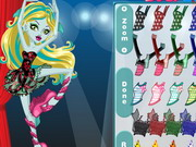 Online game Monster High Lagoona In Dance Class
