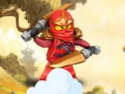 Online game Ninjago Climbing