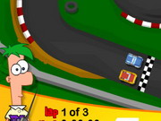 Phineas And Ferb Car Race