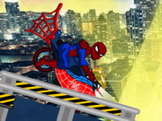 Online game Spiderman Bike Game