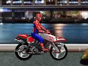 Online game Spiderman Biker