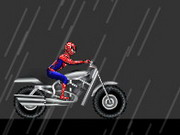 Online game Spiderman City Drive