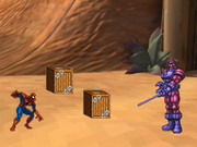 Online game Spiderman Heroes Defence