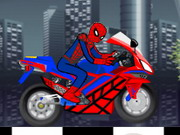 Online game Spiderman Motobike