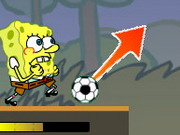 Spongebob Play Football