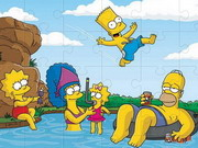 Online game The Simpsons Jigsaw Puzzle