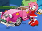 Online game Amy Rose Puzzle