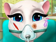 Online game Angela Surgery