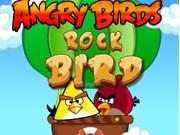 Online game Angry Birds Rock Bird