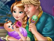 Anna and Kristoff Baby Feeding