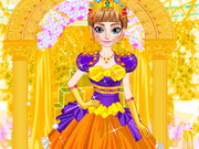 Online game Anna Royal Dress Up
