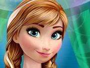 Annas Frozen manicure
