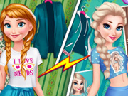 Anna Vs Elsa Fashion Showdow