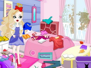 Online game Apple White Messy Room Cleaning