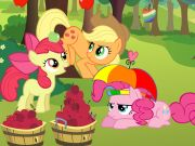 Online game Applejack  Apple Challenge