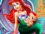 Igrica za decu Ariel And The The New Born Baby