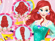 Online game Ariels Wedding Hairstyles