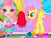 Online game Baby Barbie Little Pony 2
