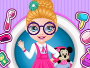 Online game Baby Barbie School Haircuts