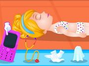 Online igrica Baby Barbie Swimming Accident