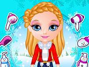 Online igrica Baby Barbie Winter Braids