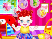 Online game Baby Girl Bubble
