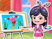 Online igrica Baby Hazel Artist Dressup