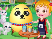 Online game Baby Hazel Easter Fun