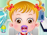 Online game Baby Hazel Gums Treatment